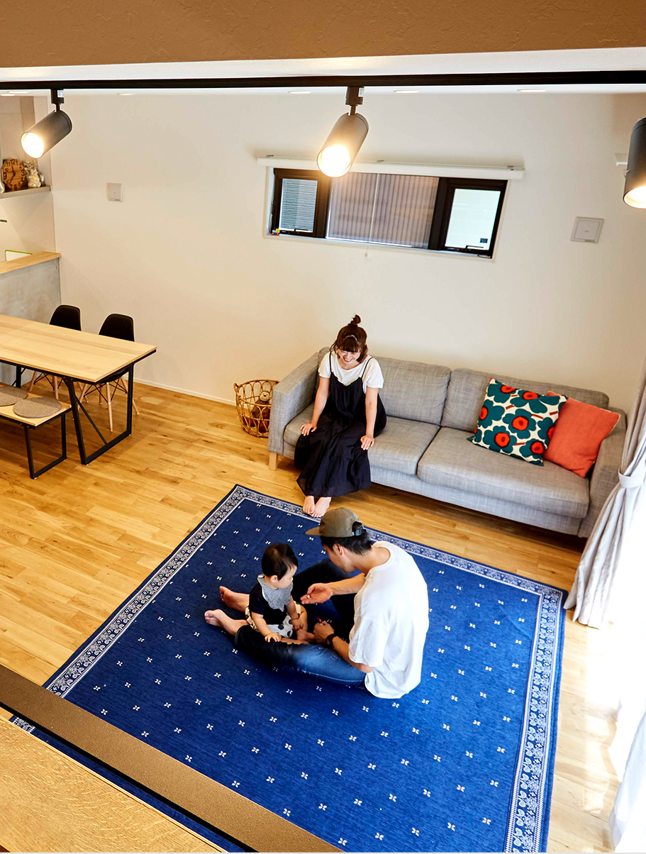 ワンランク上の性能で長く安心して暮らせる家